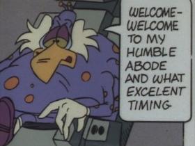 Screenshots from the 1990 Cosgrove Hall cartoon A Christmas Quacker