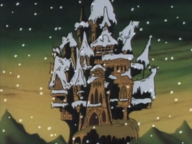 Screenshots from the 1990 Cosgrove Hall cartoon A Christmas Quacker