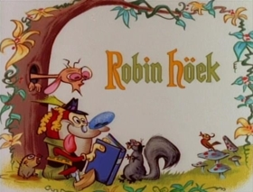 Screenshots from the 1991 Spumco cartoon Robin Höek
