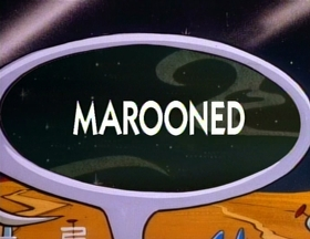 Screenshots from the 1991 Spumco cartoon Marooned