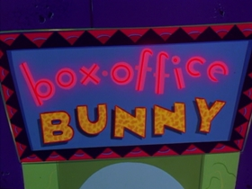 Screenshots from the 1991 Warner Brothers cartoon Box-Office Bunny