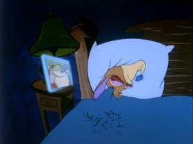 Screenshots from the 1991 Spumco cartoon The Big Shot