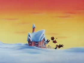 Screenshots from the 1991 Universal Cartoon Studios cartoon A Wish for Wings That Work