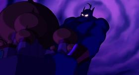 Screenshots from the 1992 Disney cartoon Aladdin