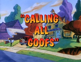 Screenshots from the 1992 Disney Television Animation cartoon Calling All Goofs