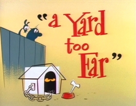 Screenshots from the 1993 Games Animation cartoon A Yard Too Far