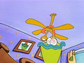 Screenshots from the 1993 Games Animation cartoon Leap Frogs