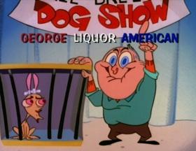 Screenshots from the 1993 Spumco cartoon Dog Show