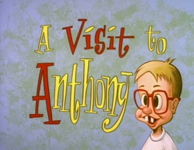 Screenshots from the 1993 Spumco cartoon A Visit to Anthony