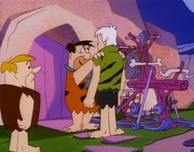 Screenshots from the 1993 Hanna-Barbera cartoon Hollyrock-a-Bye Baby