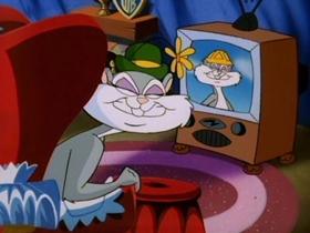 Screenshots from the 1993 Amblin Entertainment cartoon Slappy Goes Walnuts