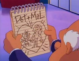 Screenshots from the 1993 Amblin Entertainment cartoon Temporary Insanity