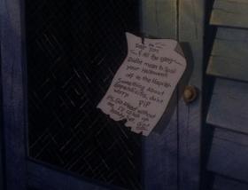 Screenshots from the 1993 Hanna-Barbera cartoon The Halloween Tree