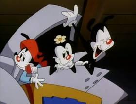 Screenshots from the 1993 Amblin Entertainment cartoon Sir Yaksalot