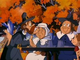 Screenshots from the 1993 Amblin Entertainment cartoon Turkey Jerky