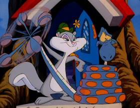 Screenshots from the 1993 Amblin Entertainment cartoon Guardin