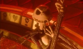 Screenshots from the 1993 Disney cartoon The Nightmare Before Christmas