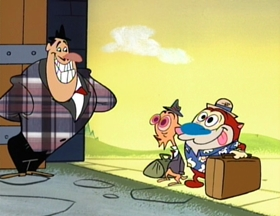 Screenshots from the 1994 Games Animation cartoon Hard Times for Haggis