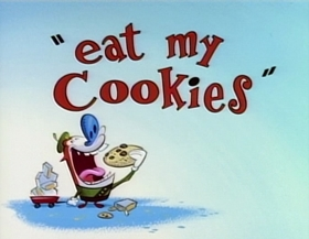 Screenshots from the 1994 Games Animation cartoon Eat My Cookies