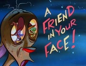 Screenshots from the 1994 Games Animation cartoon A Friend in Your Face!