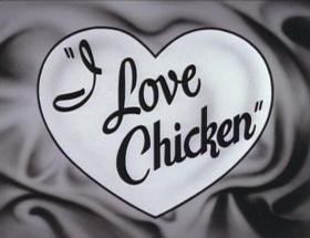 Screenshots from the 1994 Games Animation cartoon I Love Chicken