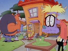 Screenshots from the 1995 Games Animation cartoon Junk Junkies