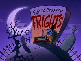 Screenshots from the 1995 Games Animation cartoon Sugar Frosted Frights