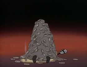 Screenshots from the 1995 Games Animation cartoon Ol