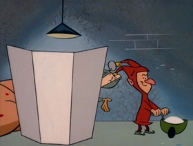Screenshots from the 1995 Games Animation cartoon Pixie King