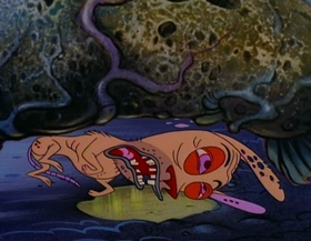 Screenshots from the 1995 Games Animation cartoon Aloha Höek