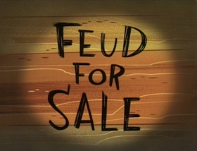 Screenshots from the 1995 Games Animation cartoon Feud for Sale