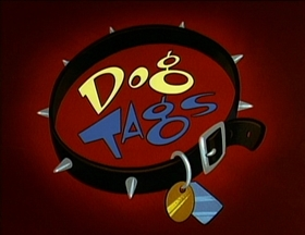 Screenshots from the 1995 Games Animation cartoon Dog Tags