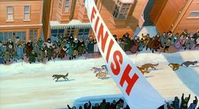 Screenshots from the 1995 Amblimation cartoon Balto