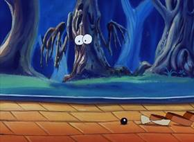 Screenshots from the 1995 Amblin Entertainment cartoon Buttons in Ows