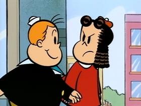 Screenshots from the 1995 CINAR cartoon Jr. Detective Tubby