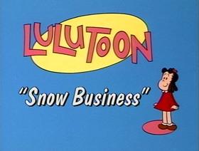 Screenshots from the 1995 CINAR cartoon Snow Business