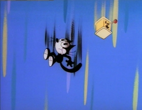 Screenshots from the 1995 Film Roman cartoon Space-Time Twister