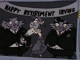 Screenshots from the 1996 Games Animation cartoon Ed Good, Rocko Bad