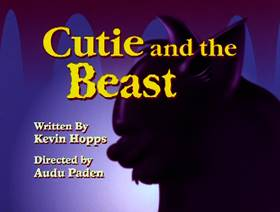 Screenshots from the 1996 Amblin Entertainment cartoon Cutie and the Beast