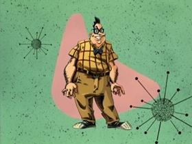 Screenshots from the 1997 Nelvana cartoon The Friend For Life