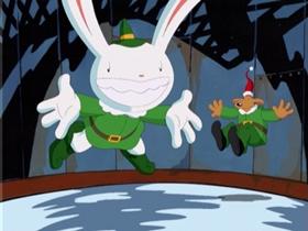 Screenshots from the 1997 Nelvana cartoon Christmas, Bloody Christmas