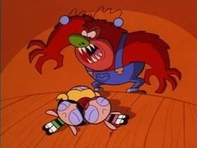 Screenshots from the 1998 Hanna-Barbera cartoon Fuzzy Logic