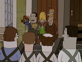 Screenshots from the 1998 Absolutely Productions cartoon Pony