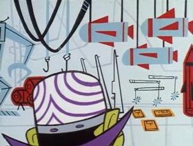 Screenshots from the 1999 Hanna-Barbera cartoon Just Another Manic Mojo