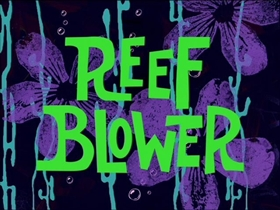 Screenshots from the 1999 United Plankton Pictures cartoon Reef Blower