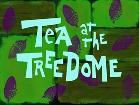 Screenshots from the 1999 United Plankton Pictures cartoon Tea at the Treedome