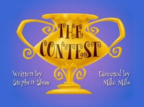 Screenshots from the 1999 Warner Brothers Television cartoon The Contest