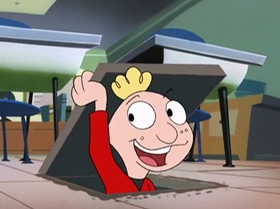 Screenshots from the 1999 Warner Brothers Television cartoon Breaking Out