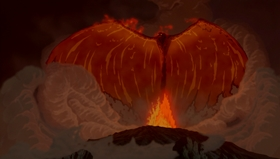 Screenshots from the 1999 Disney cartoon Firebird Suite - 1919 Version