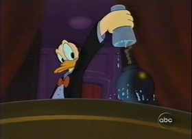 Screenshots from the 1999 Disney Television Animation cartoon Donald
